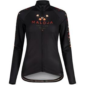 Maloja RubinieM. 1/1 Long Sleeve Bike Jersey Women, moonless